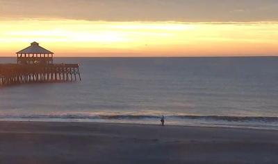 Pleasant weather today in Charleston, colder later in the week