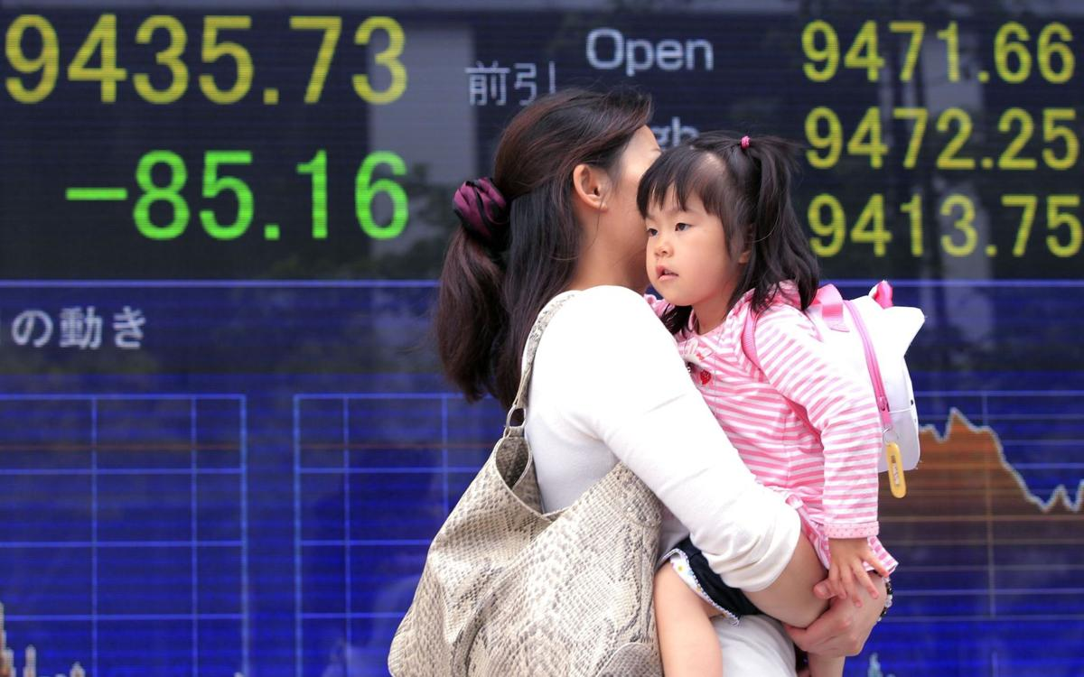 Nikkei falls as most Asia markets take holiday