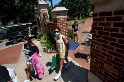 University Of South Carolina Students Begin To Move Back To Campus (copy) (copy) (copy)