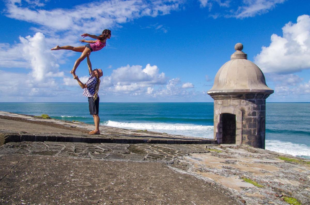 Pair to teach 'yogaslacking'
