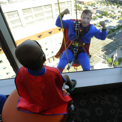 Alabama hospital patients greeted by comic heroes