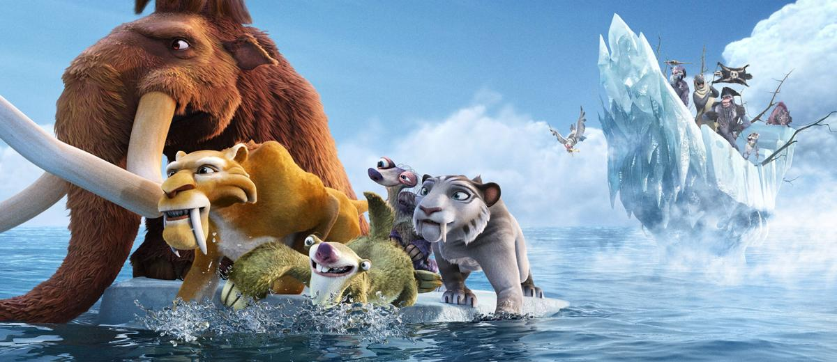 While Batman lurks, 'Ice Age' tops box office