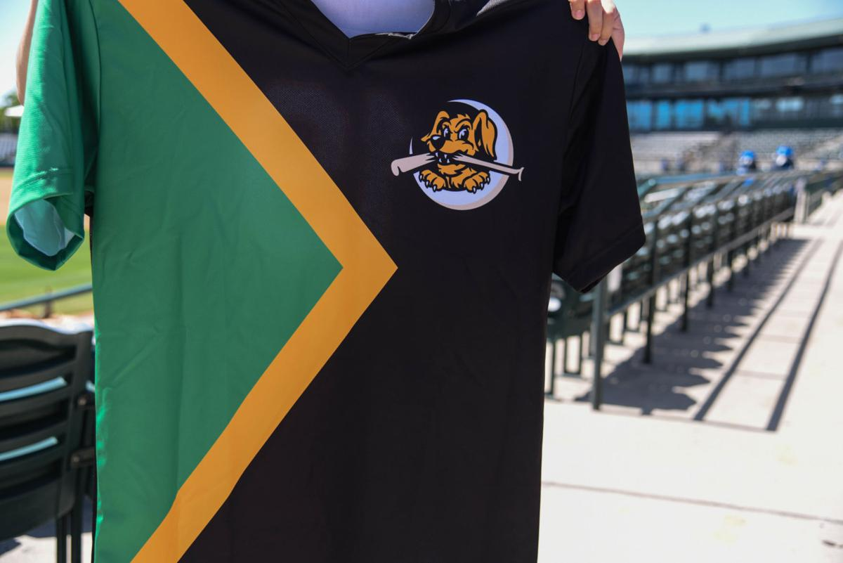 Jamaican Bobsled Night jersey RiverDogs
