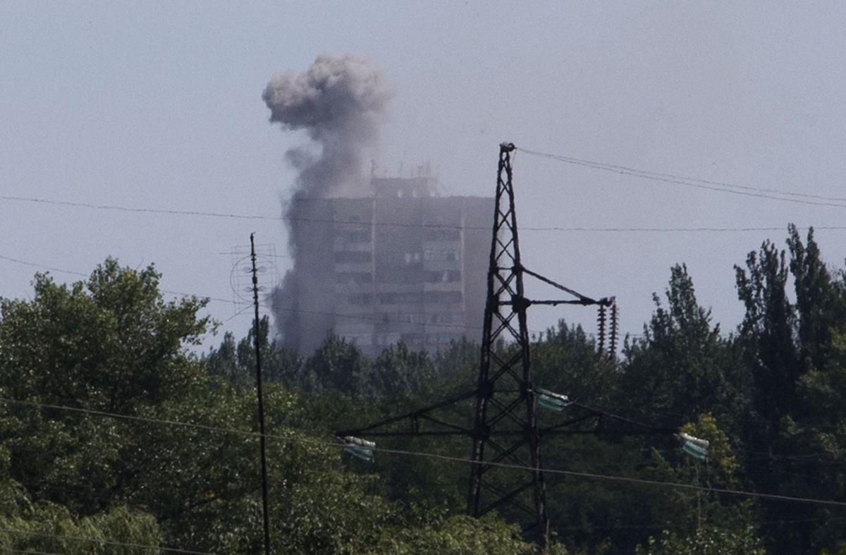 Police team turns back from Ukraine crash site