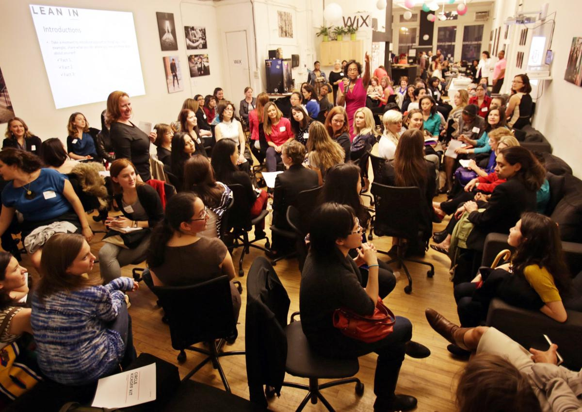 Women forming 'Lean In' circles