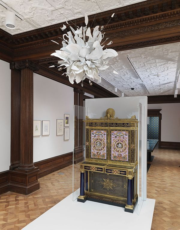 Larger, repositioned Cooper Hewitt design museum welcomes public again at its mid-1800s New York home