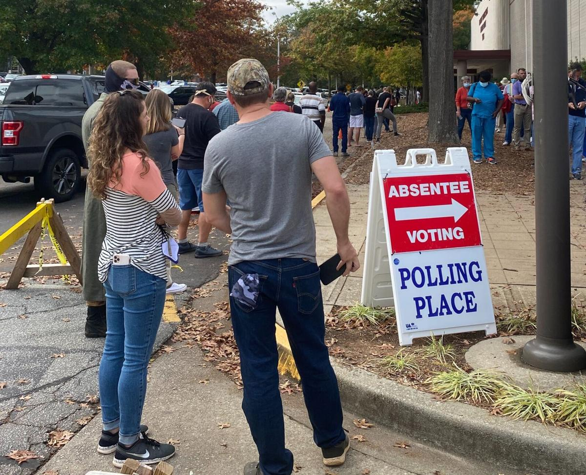 Early voting County Square (copy)