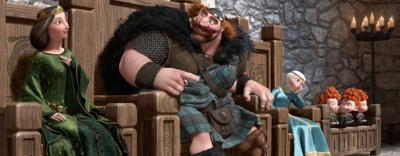 Disney's latest princess is Scottish, feisty, 'Brave'