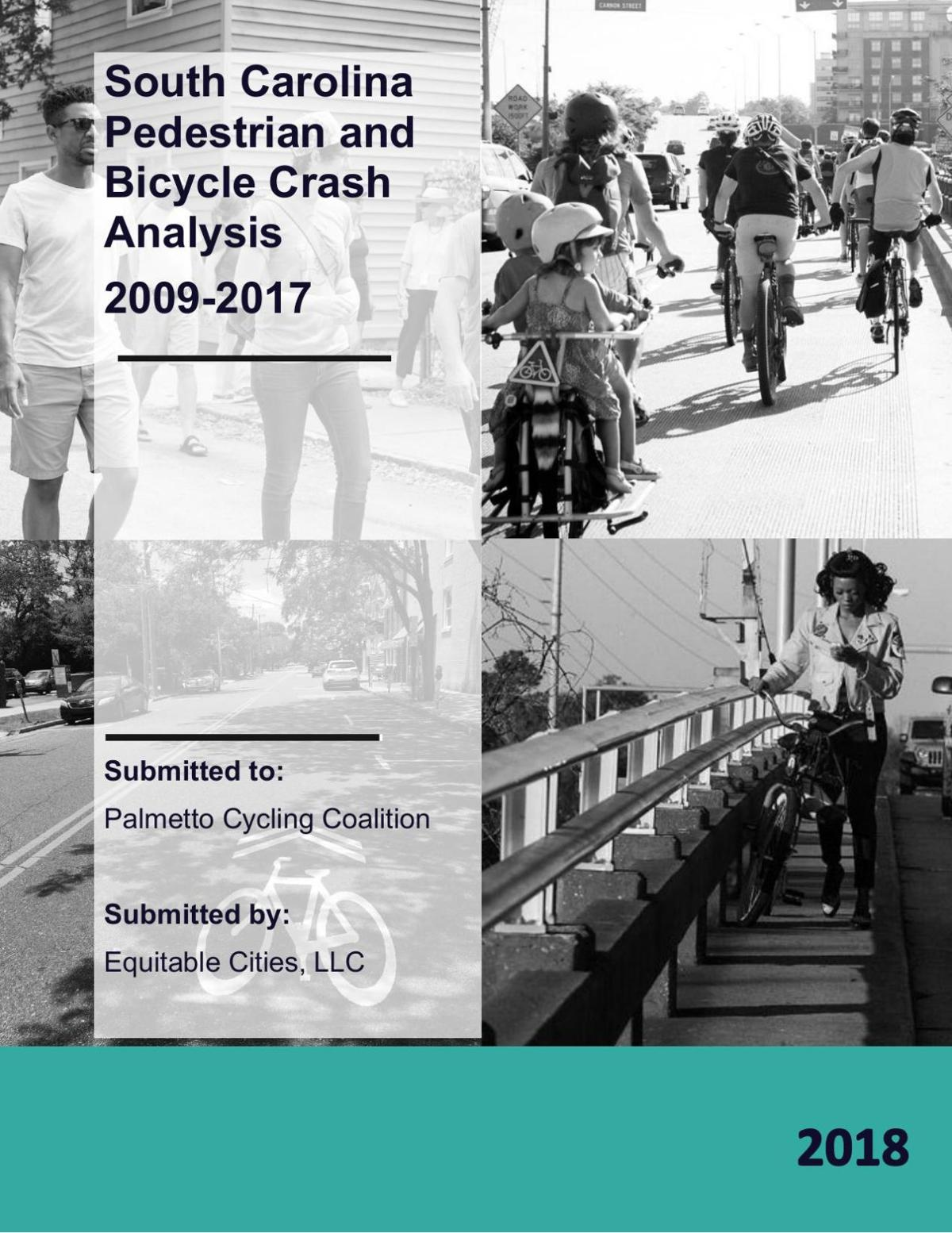 Bike and pedestrian crash data