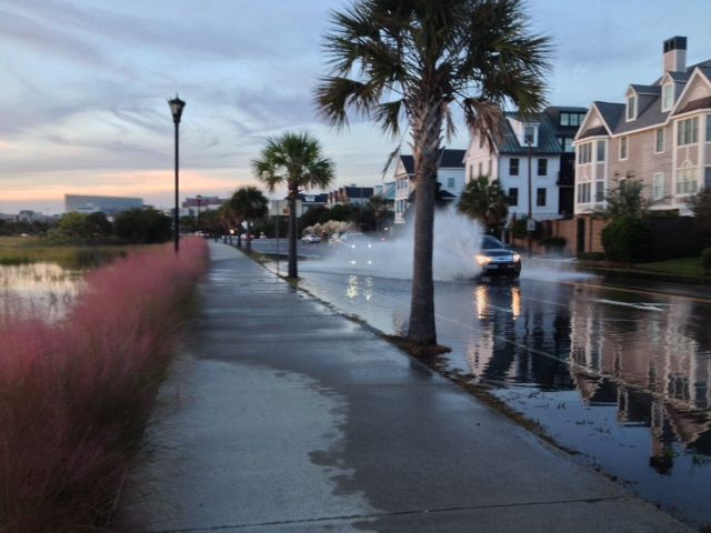 High tides to flood coastal roads