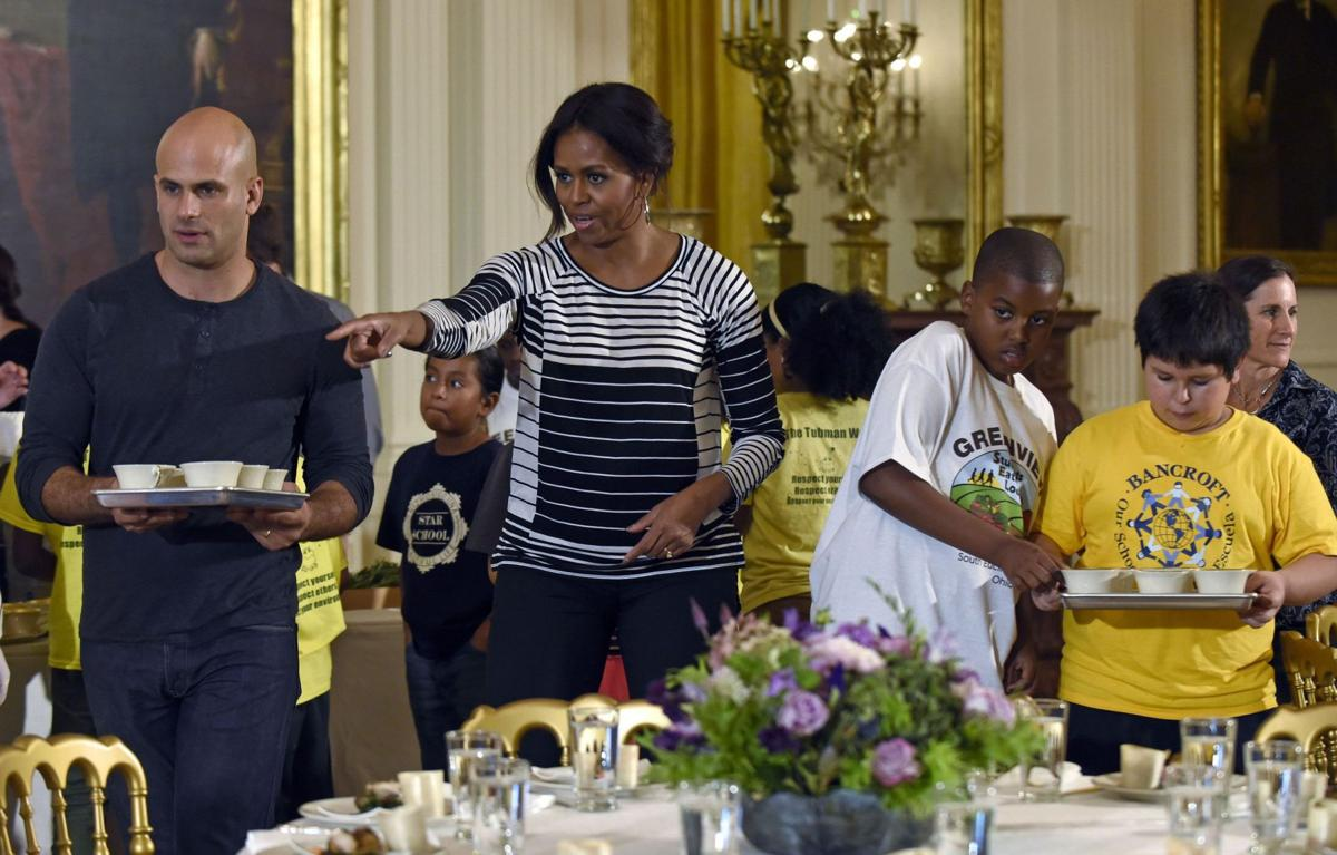 Foodie first lady says 'cheese dust is not food'