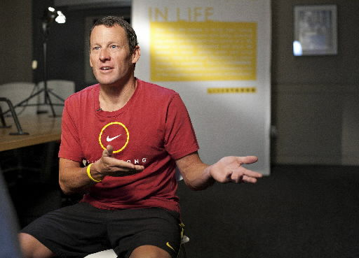 Armstrong officially off bike — 'Retirement 2.0'
