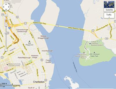 Charleston man gets Google Maps bridge error corrected
