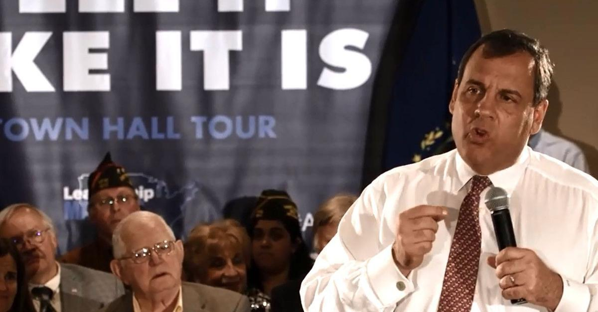 Gov. Christie's presidential campaign airs its first TV ad