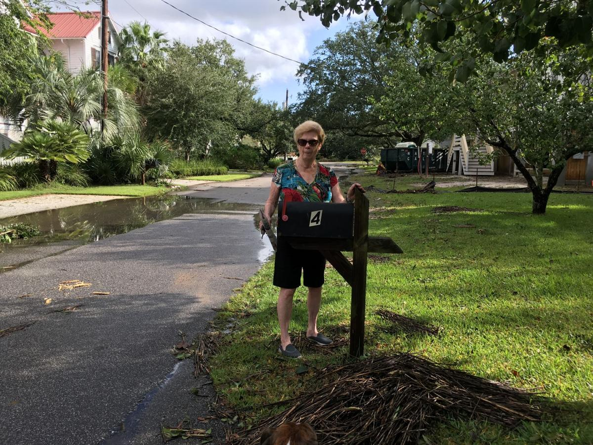 Old Village flooding from Hurricane Irma