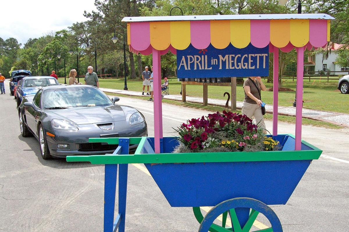 Classic cars and trucks line Meggett's blocked off main street for first-time show April 11