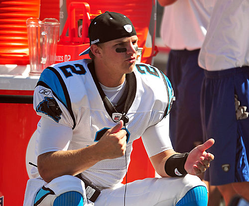 Panthers QB Clausen in spotlight against Bengals