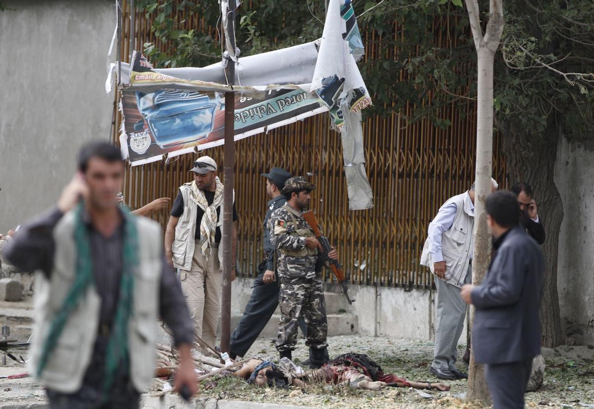 Suicide blast blamed on Haqqani network