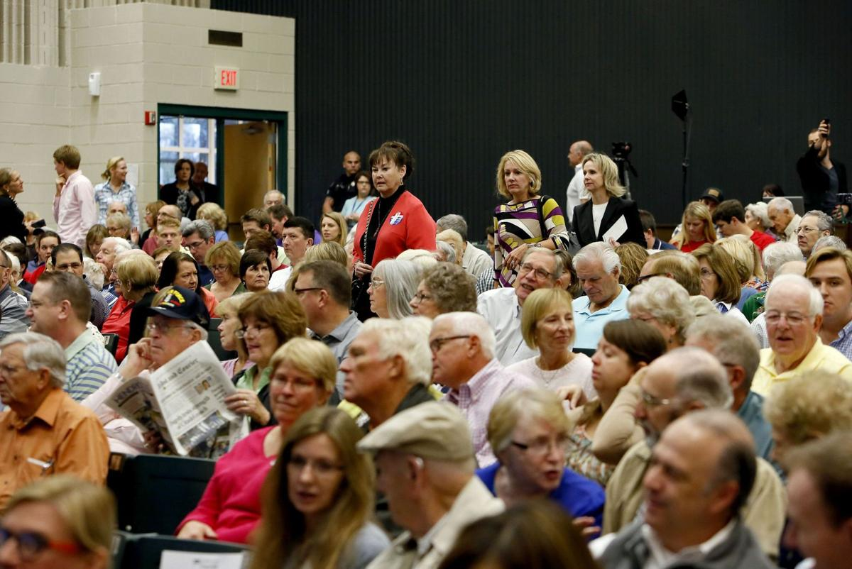 Jeb Bush at Scott's Town Hall event