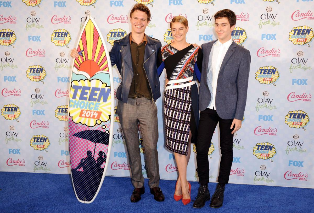 Shailene Woodley and Ansel Elgort of 'The Fault in Our Stars' among Teen Choice Awards winners
