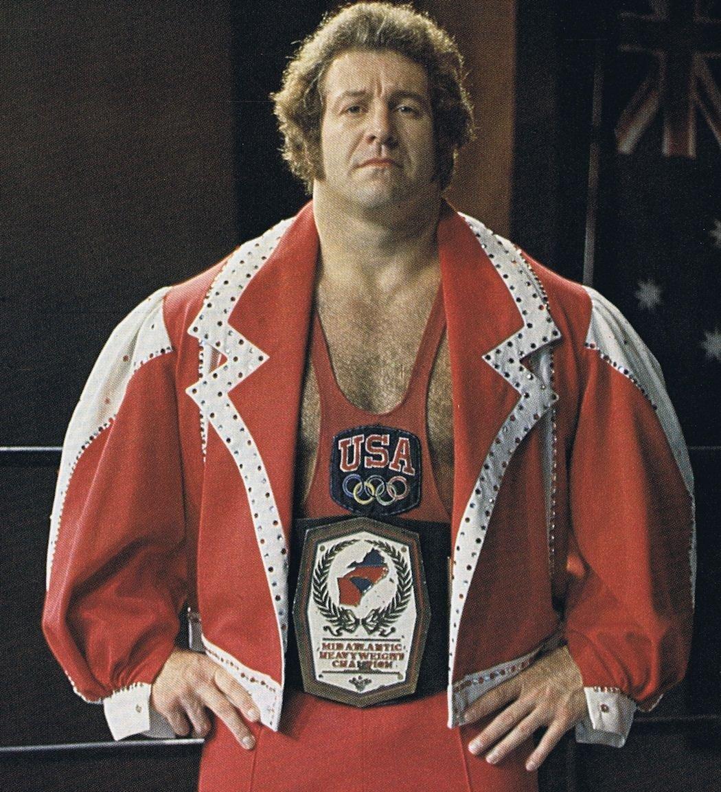 Ken Patera was pro wrestling's Olympic hero, world's strongest man