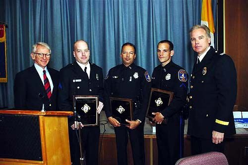 Charleston trio named officers of year for '08