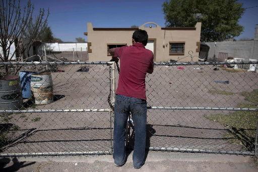 Cartels empty border towns