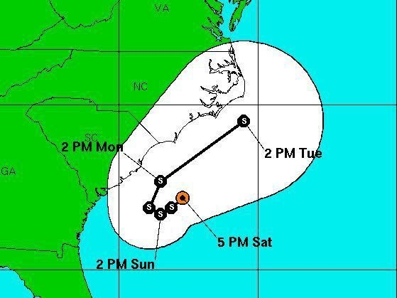 Tropical storm watch issued for Alberto, first tropical storm of the year