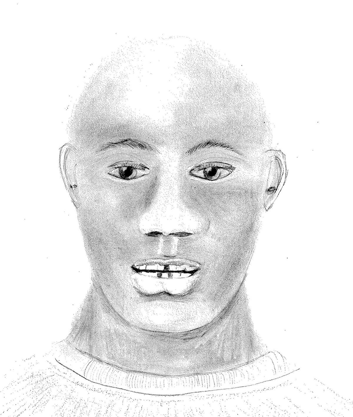 Updated sketch of rape suspect released