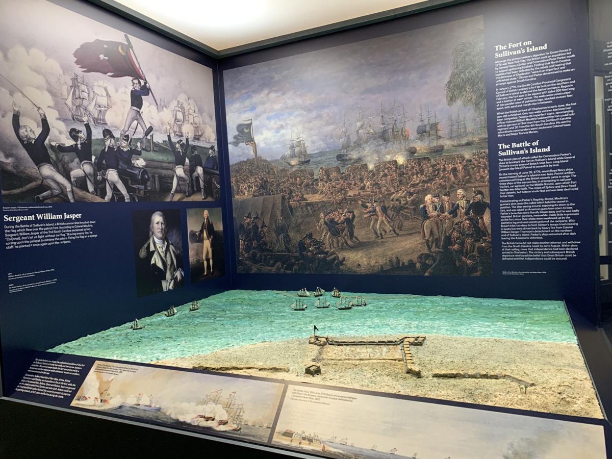 Battle of Sullivan's Island.