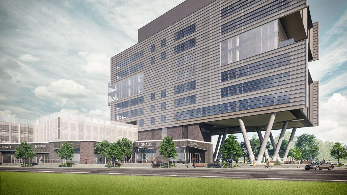 Morrison Yard office building