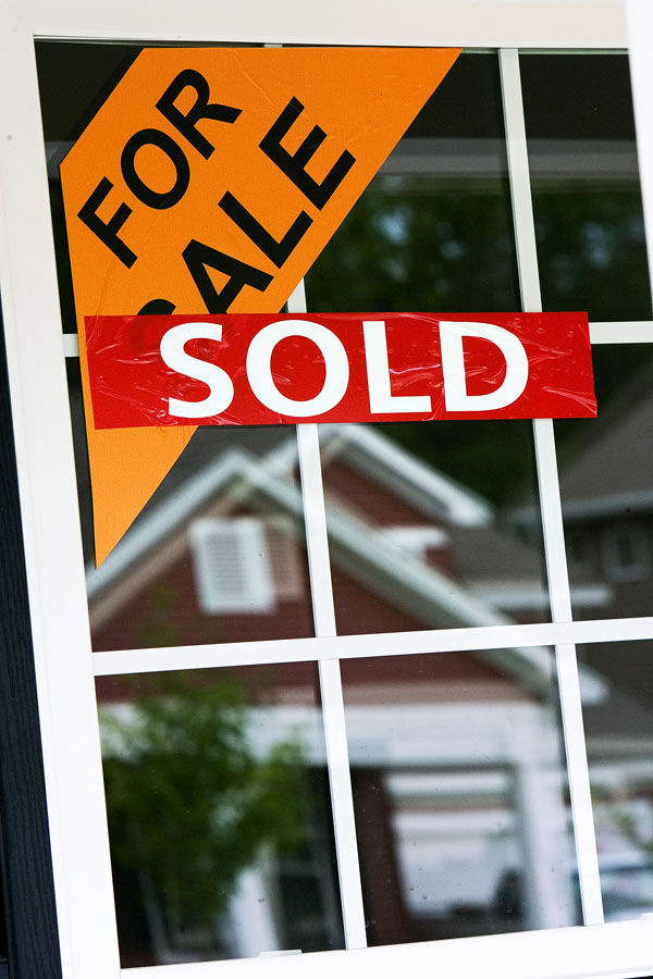 Sales of new homes up