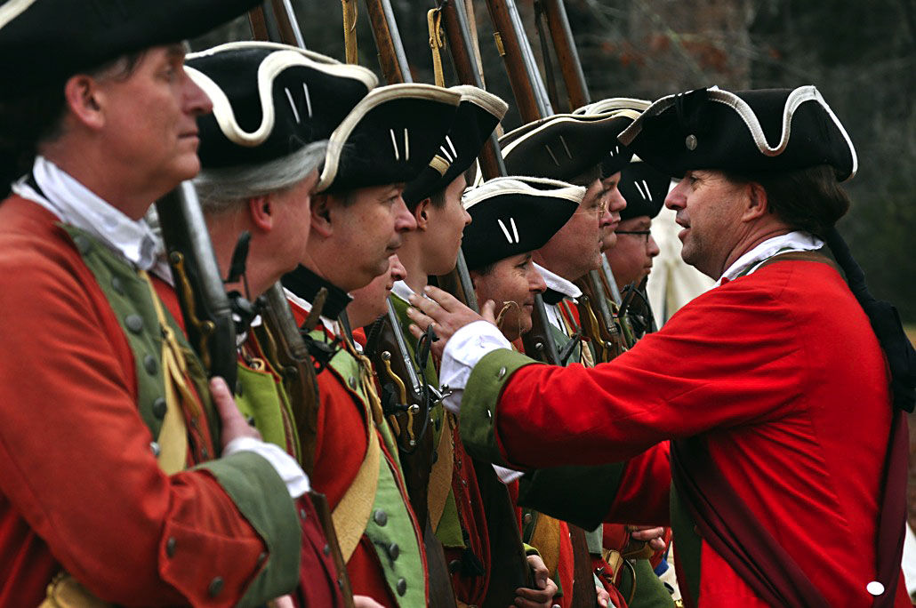Re-enactors at Colonial Dorchester
