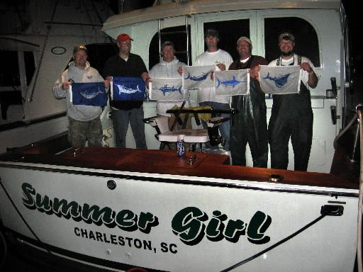 Local crew out for day of billfishing winds up capturing offshore angling's Holy Grail