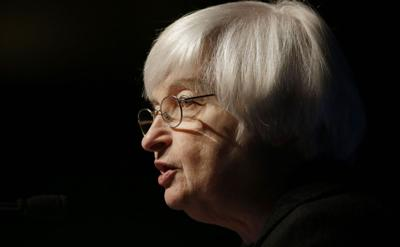 Yellen: 1st rate hike likely by year end if economy improves