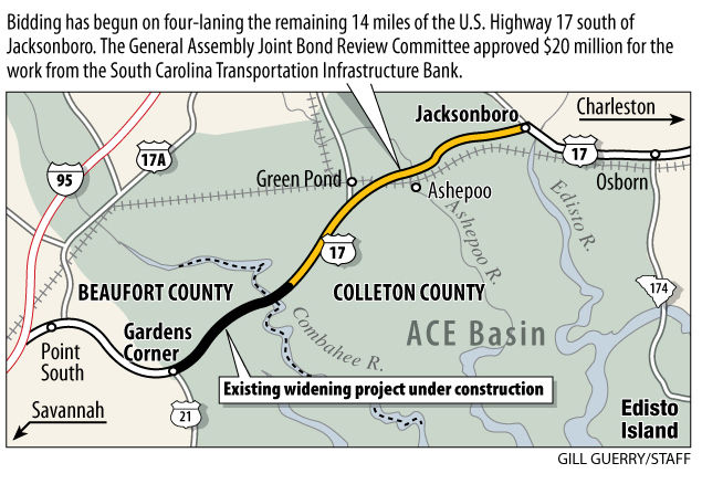 20M approved for 4lane project News postandcouriercom