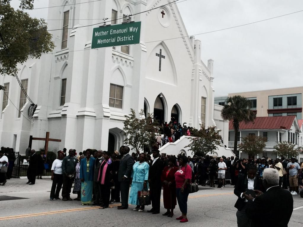A way to remember Mother Emanuel Way District a monument to love, forgiveness