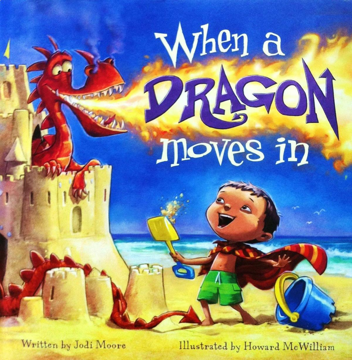 Dragon tale fun for kids and endearing to parents