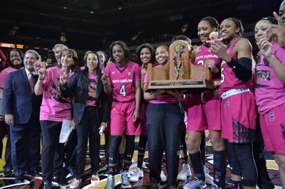 USC women win SEC title outright