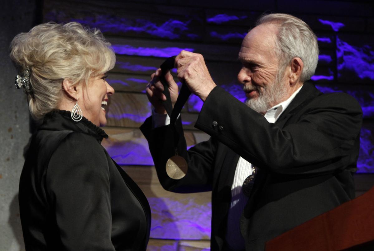 Hall of fame welcomes tearful Brooks
