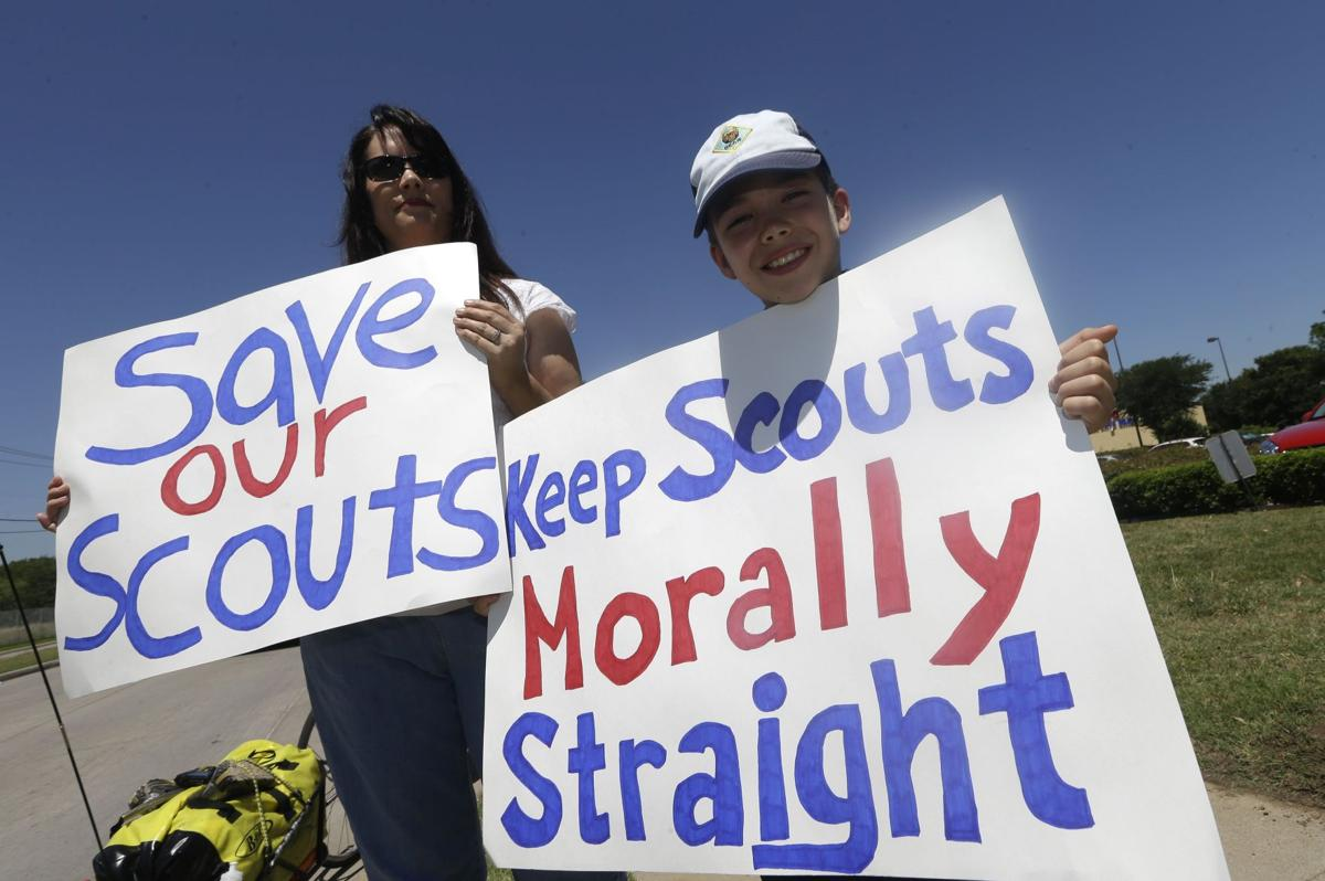 Scouts' decision on gays splits locals Move to allow homosexual youths, but not adult leaders, seems to please no one