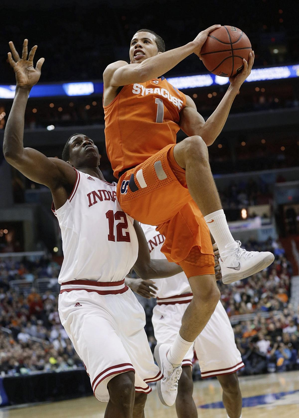 Syracuse's D, Carter-Williams beat Indiana, 61-50