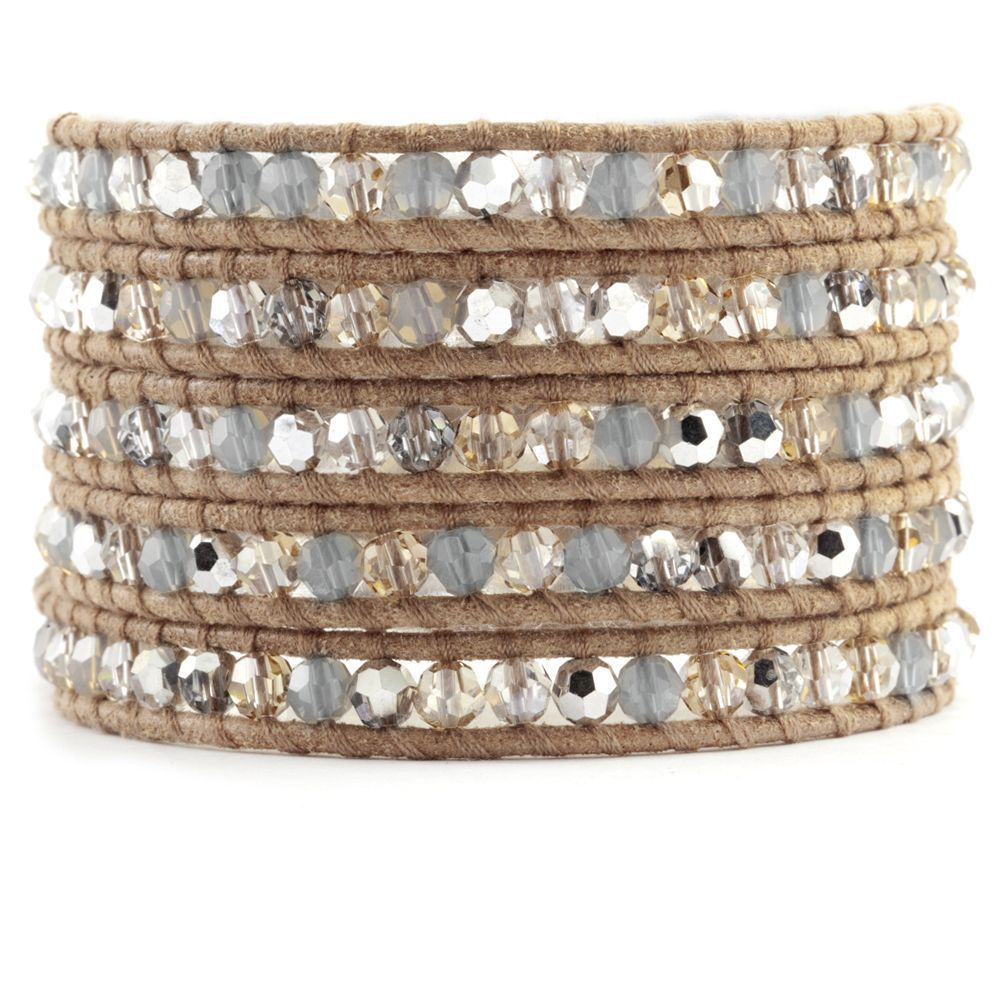 Chan Luu's leather-wrap bracelet is widely copied