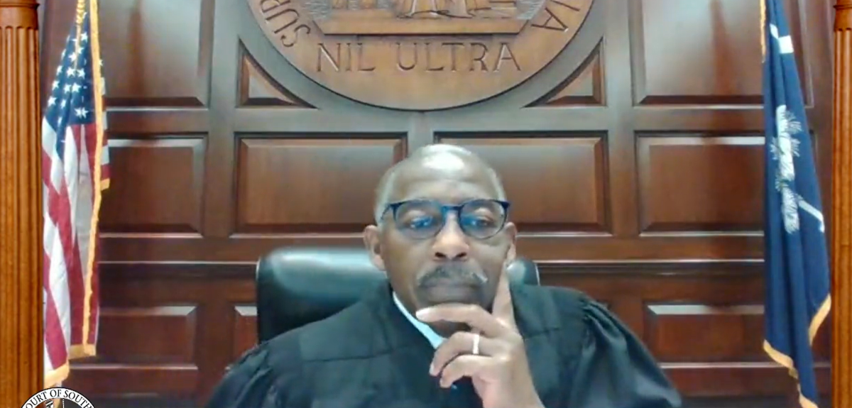 SC Supreme Court Chief Justice Don Beatty