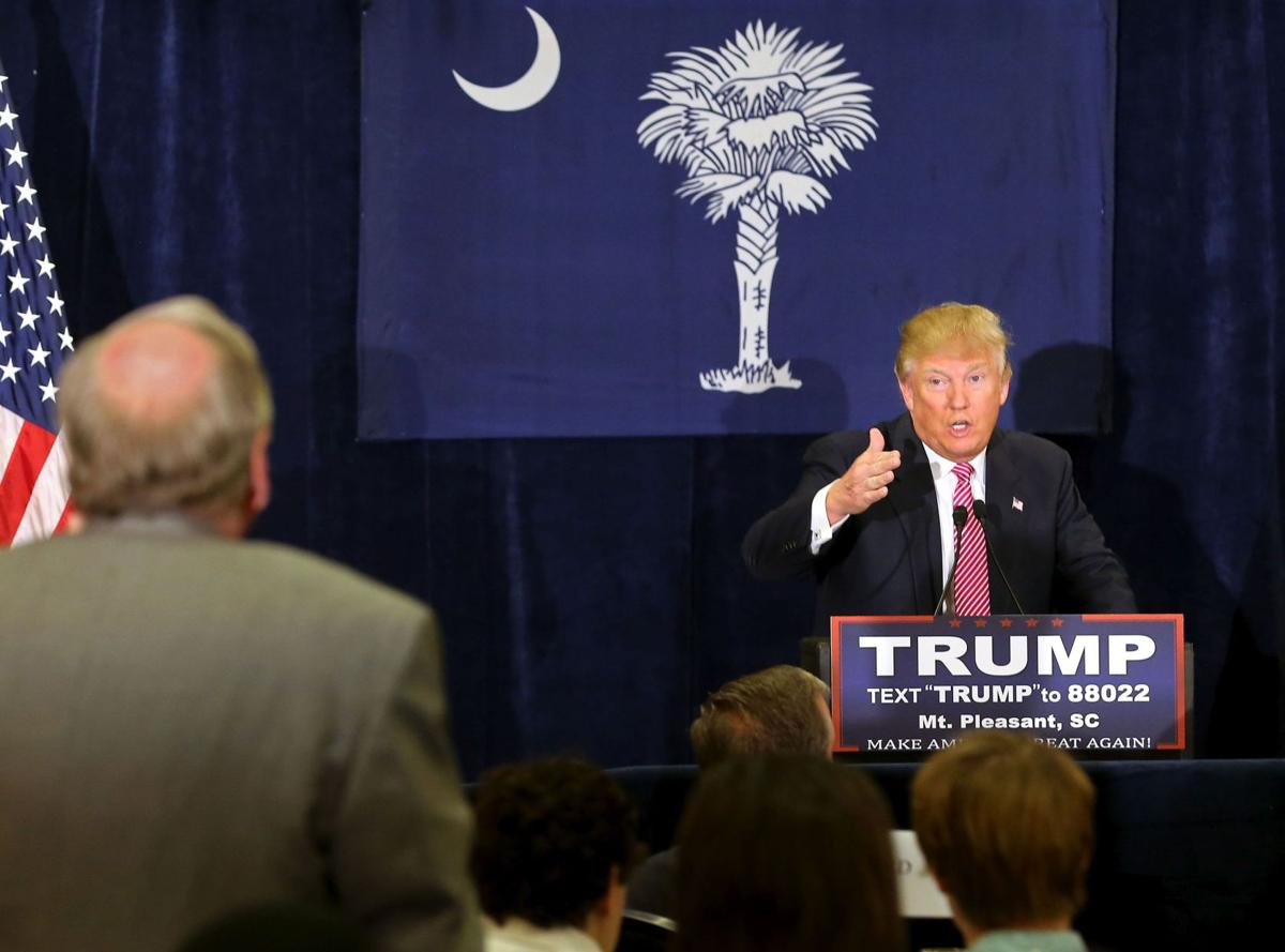 Trump in Hanahan calls Gitmo plan 'ridiculous'