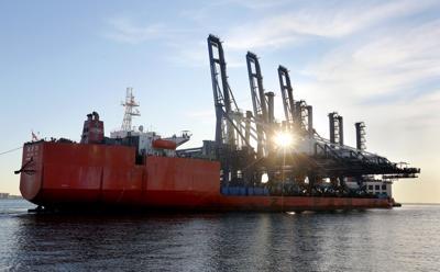State Ports Authority Cranes