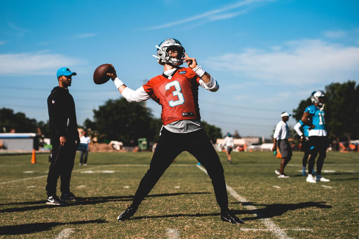 official photos 3beb9 5218f Carolina rookie Will Grier goes from life-long Panthers fan ...