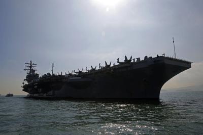 Hong Kong China US Military