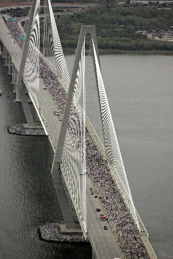 Bridge Run start to be staggered