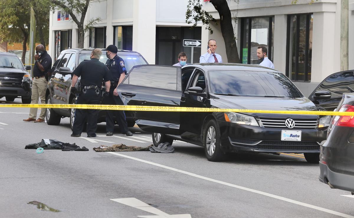 Meeting Street Shooting